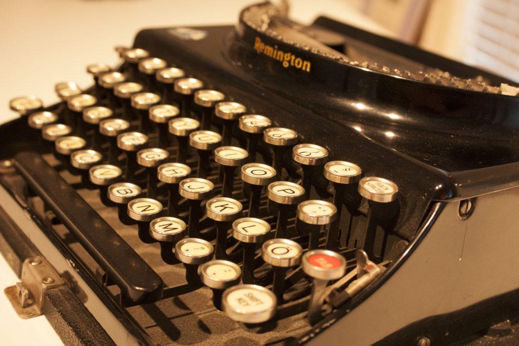 Pentti Haanpään kirjoituskone