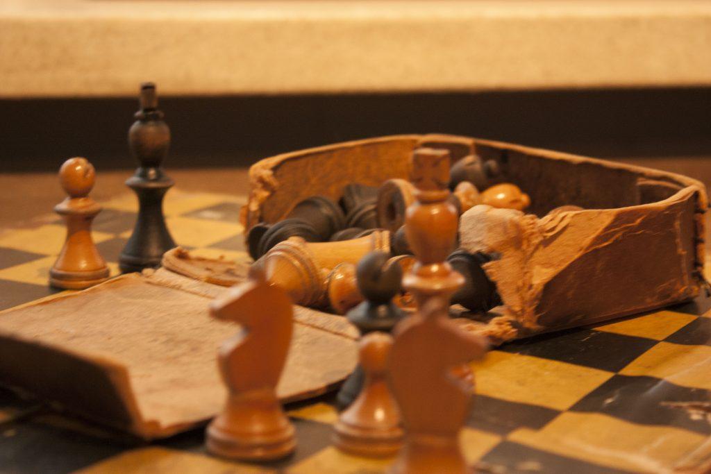Pentti Haanpään shakkipeli